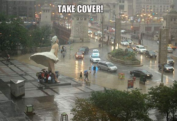 One Good Reason To Keep The Ugly Marilyn Monroe Statue