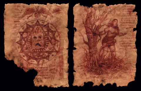 Artist Chris Sanchez Re-Creates the Necronomicon Ex-Mortis With Actual Human Flesh and Blood?