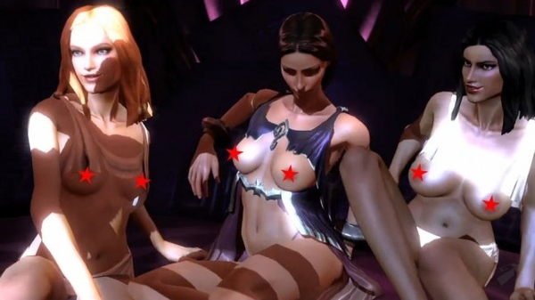 7 of the Sexiest Video Game Sex Scenes