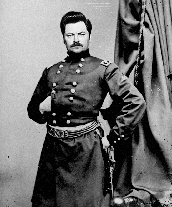Ron Swanson's Great Great Grandfather