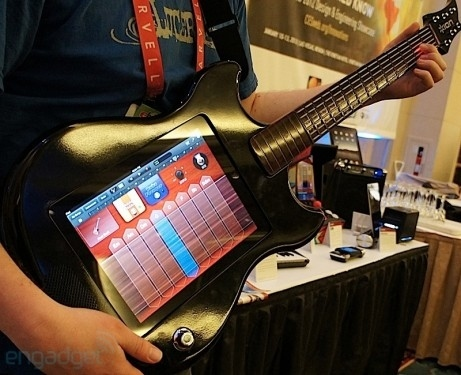 Play The Guitar On Your IPad In Your Guitar