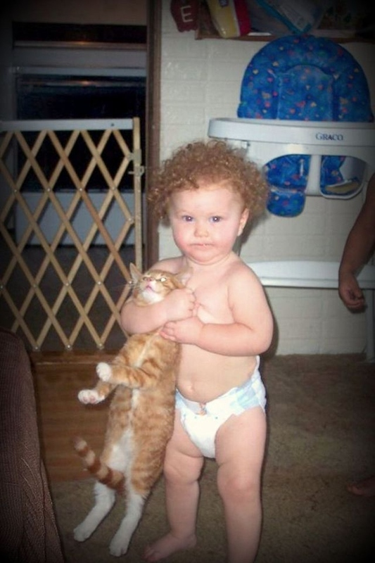 Young Cat Lover
