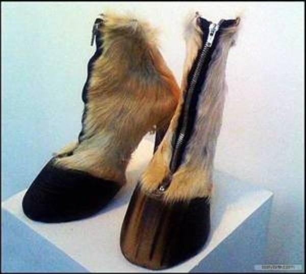 Deer Hoof Shoes