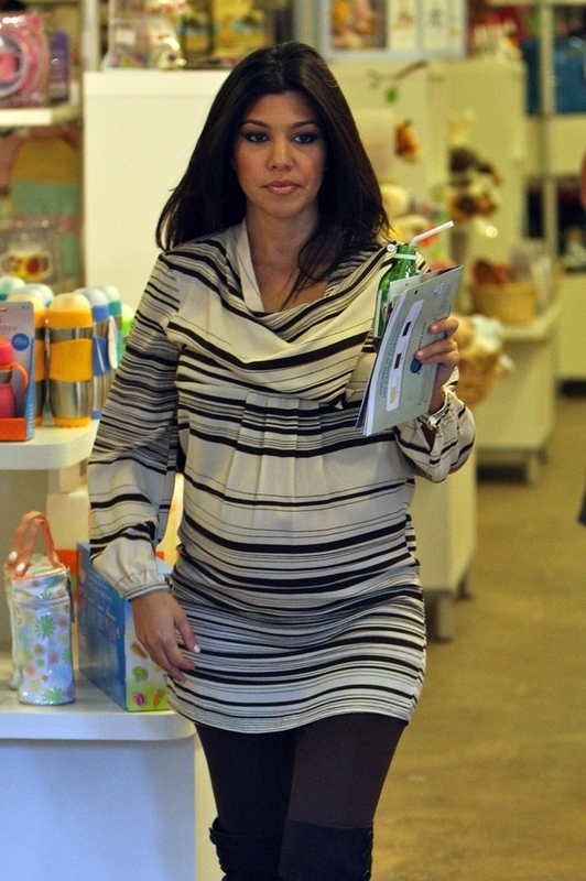 Kourtney Kardashian Baby Shops