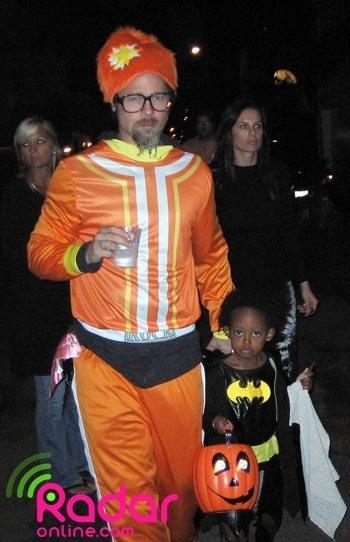 Brad Pitt's Halloween Costume
