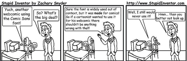 In Defense of Comic Sans