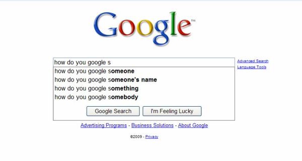 How Do You Google?