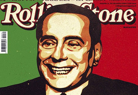 Silvio Berlusconi Best Rockstar Ever by Rolling Stone Italy