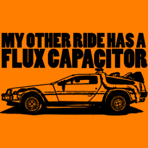 Great Scott! It's Flux Capacitor Day!
