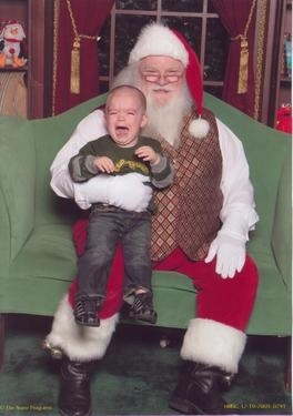Kids Scared of Santa 2009 Edition!