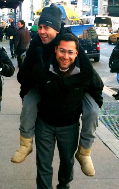 Carry Mark Malkoff Across Manhattan