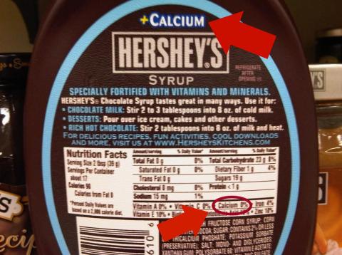 Hersheys Contradicts Itself