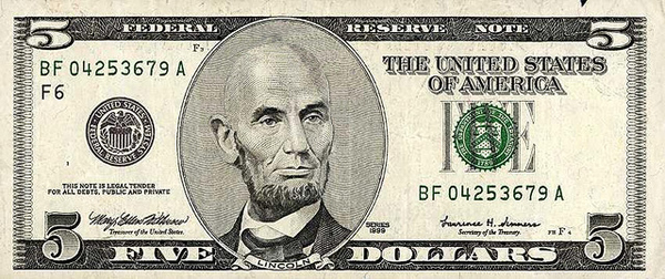 Bald Presidents On Money