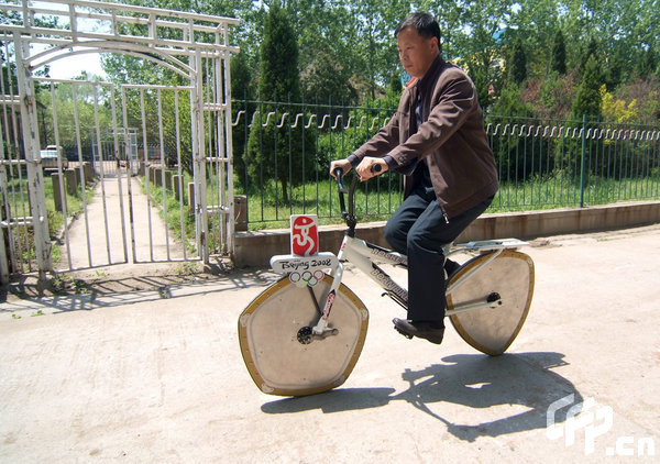 Multi-Angle-Wheel Bicycle