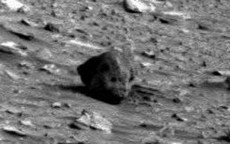 Alien Skull Found On Mars?