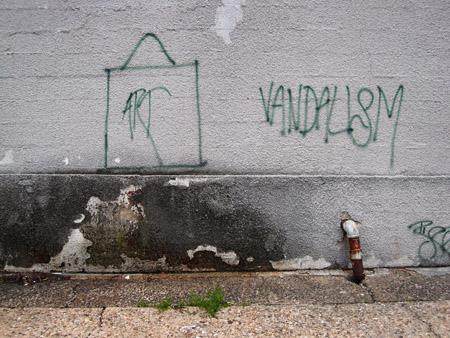Art Vs. Vandalism