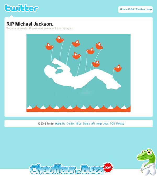 Twitter RIP Michael Jackson