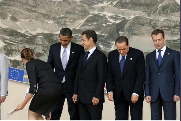 President Obama Admires More Booty?