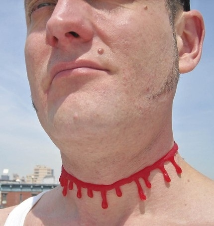 Blood Choker Necklace!