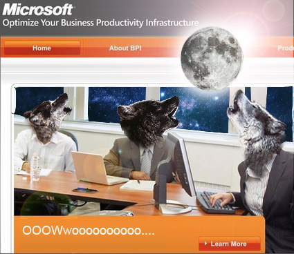 Three Wolf Microsoft