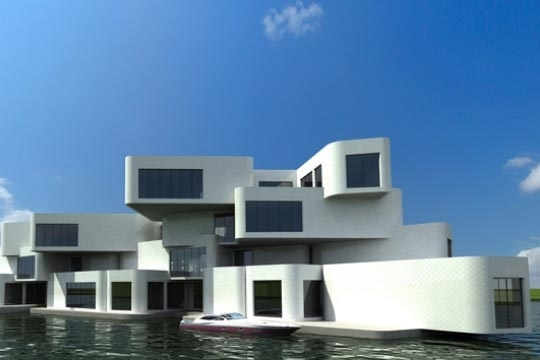 Floating Apartment Complex