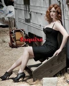 Christina Hendricks Steamy in Esquire