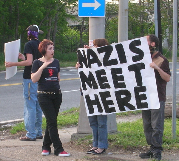 Hey, Is This Where The Nazis Meet?