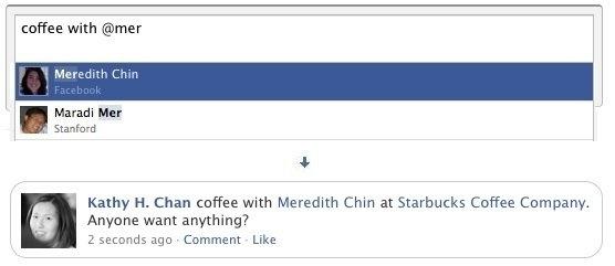 Facebook Adds @ Replies