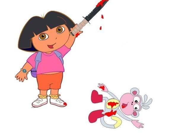 Dora Finally Snapped.