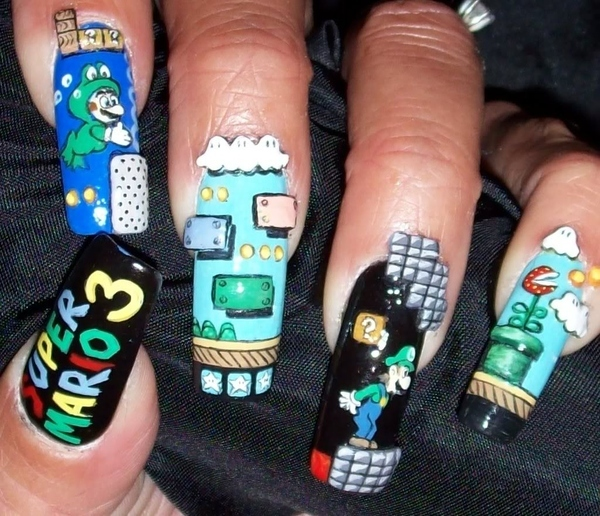 Super Mario Bros. 3 Fingernails