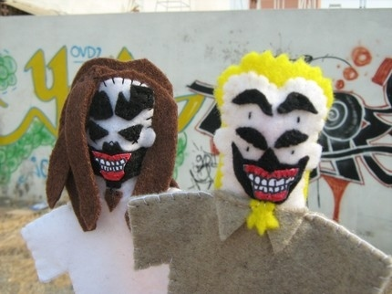 Insane Clown Posse Finger Puppets