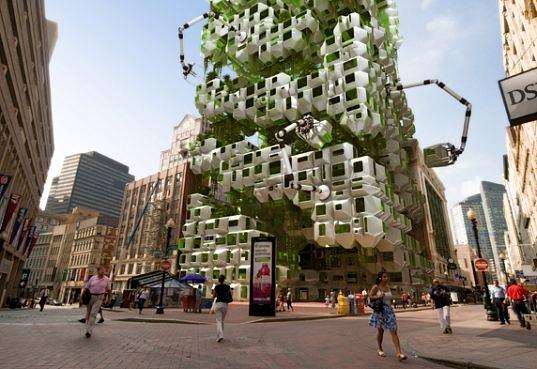 Algae Eco-Pods