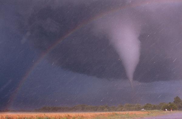 Tornado, Rainbow & Hailstones
