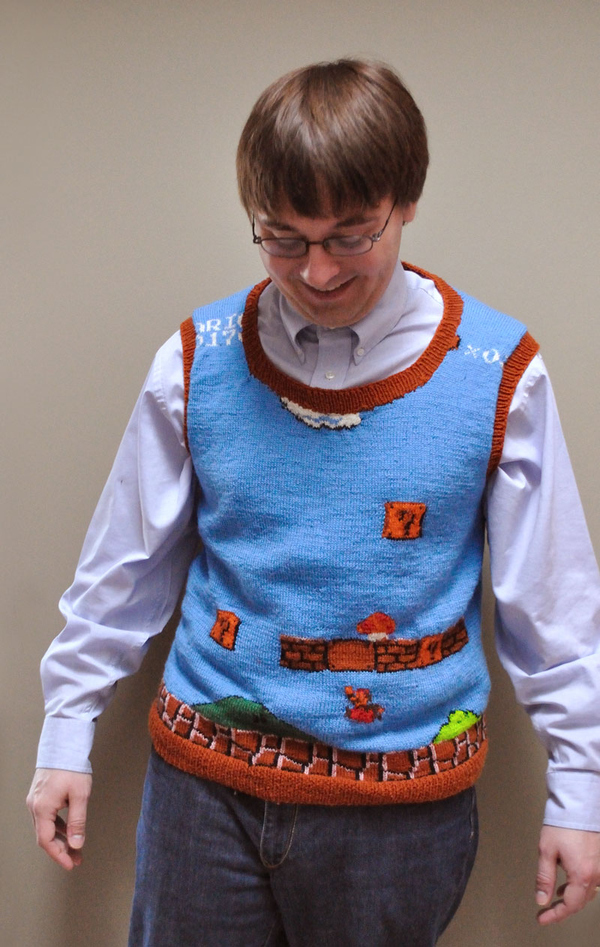 Best. Sweater-Vest. Ever.