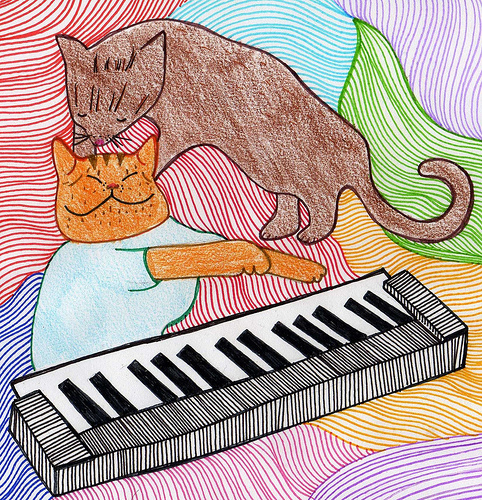 Keyboard Cat Massage