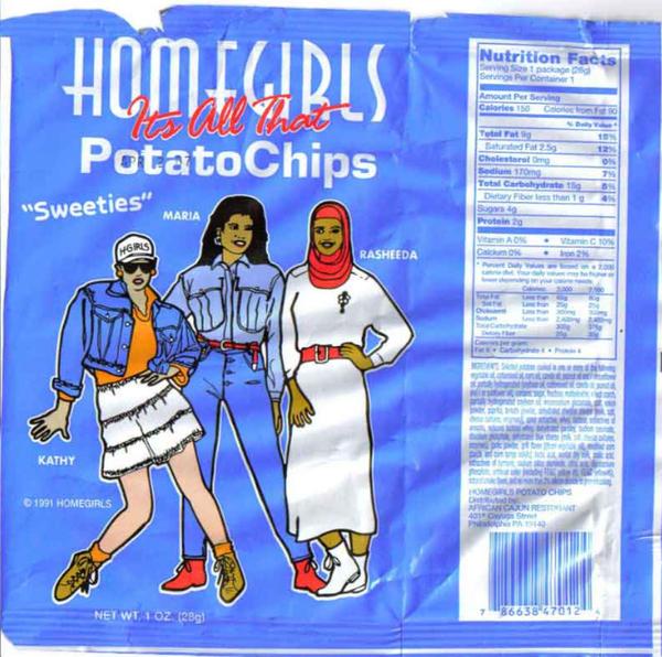 Homegirls Potato Chips