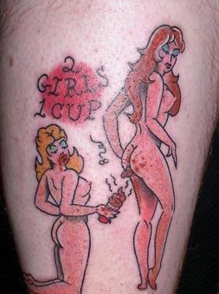 2 Girls 1 Tattoo [NSFW]