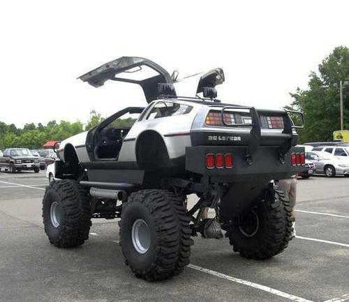 Back To The Future – Monster DeLorean