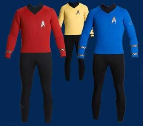 Star Trek Wetsuits