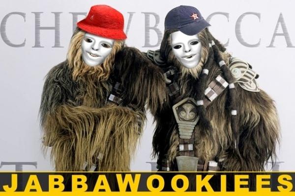 Jabbawookiees!