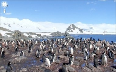 Google Maps: Antartica Street View