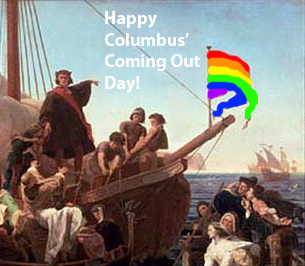 Happy Columbus' Coming Out Day!