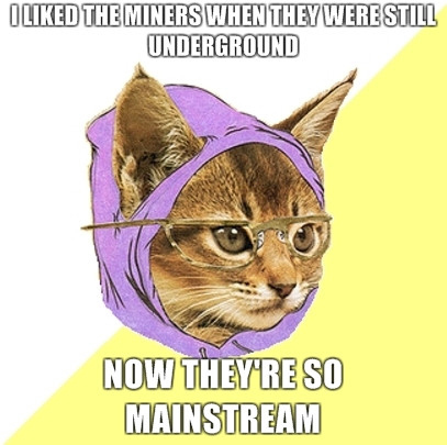 Hipster Cat Takes On The Chilean Miners