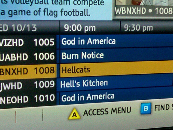 DVR Guide Or Bible?