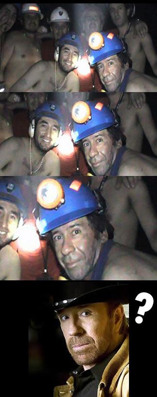 Chuck Norris: A Chilean Miner?