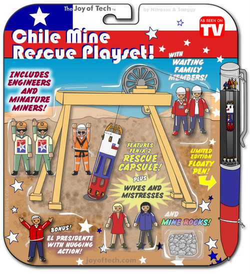 Chile Mine Rescue Play Set
