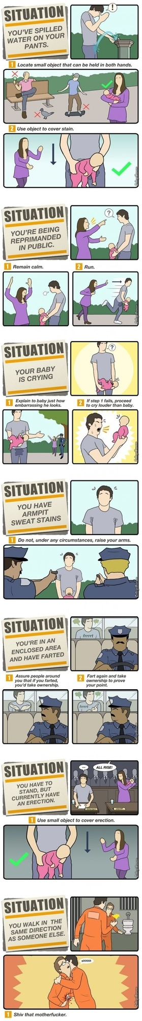 How to Get Out of Awkward Situations