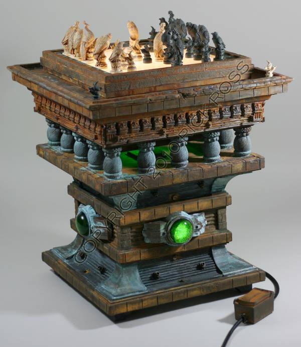 Fan-Made Blade Runner Chess Set