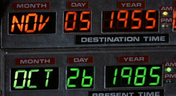 Happy Back To The Future Time Travel Day!