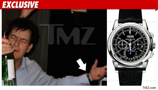 Patek Philippe 5970- Charlie Sheen's Missing Timepiece (Watch)